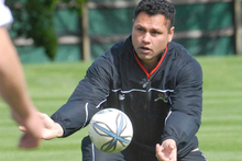 Tabai Matson (pictured) and Aaron Mauger have been confirmed as the Crusaders' new assistant coaches for next season. Photo / Geoff Sloan.