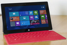 Microsoft's new Surface RT tablet. Photo / Juha Saarinen