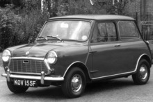 The Mini captured the motoring world when it was introduced in 1959, growing in popularity to become an icon of the 60s. Photo / Supplied