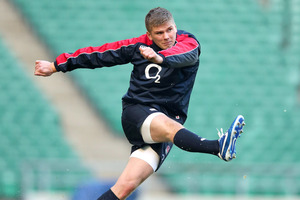Owen Farrell. Photo / Getty