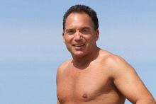 Andrew Pointon at Papamoa Beach. Photo / Herald on Sunday