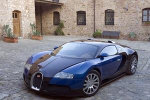 X Factor judge Simon Cowell owns a US$1.7m Bugatti Veyron. Photo / Supplied