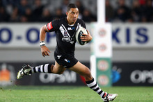 Benji Marshall of the Kiwis. Photo / Getty Images