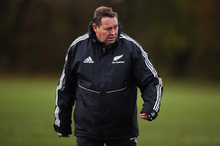 Steve Hansen, All Blacks coach. Photo / Getty Images 