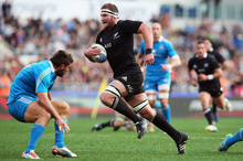 All Black No 8 Kieran Read says the season needs to end with a win otherwise there will be questions asked. Photo / Getty Images