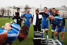 One more time ... the All Blacks have kept onfield training to a minimum before the last and toughest international of their Northern Hemisphere tour, against England. Photo / Getty I