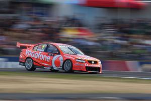 Holden's Jamie Whincup has an unassailable drivers' championship lead into the season's final races at Sydney Olympic Park. Photo / EDGE photographics
