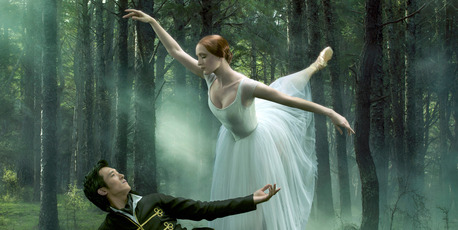 Giselle and Albrecht dance with a deep and affecting emotional connection.