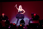 Nicki Minaj's show was high in theatrics, with excellent stage effects. Photo / Neville Marriner