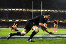 A healthy mix of recovery and preparation will be on the All Black agenda as they set themselves for their final task after sawing off Wales 33-10 at the Millennium Stadium. Photo / Getty Images