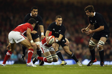 Aaron Cruden slotted into Daniel Carter's role and steered the ship with consummate ease. Photo / Getty Images