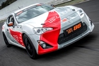 The Toyota TR 86 will be compliant with a number of racing disciplines. Photo / Supplied