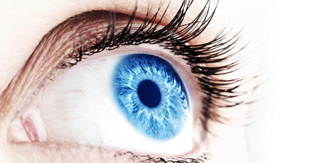 The cornea, the transparent dome at the front of the eye, can be damaged by trauma such as chemical splashes or boiling water, or by disease. Photo / Getty Images