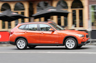 BMW's higher-spec'd X1 soft-roader offers greater comfort to back seat passengers who fancy a snooze. Photo / Supplied