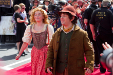 Actors on the red carpet during the World premiere of the Hobbit: An Unexpected Journey, in Wellington. Photo / Mark Mitchell
