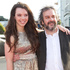 Sir Peter Jackson and his daughter, Katie, on the red carpet for the World premiere of The Hobbit. Photo / Mark Mitchell