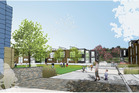 An artist's impression of the townhouse development planned for Panama Rd, Mt Wellington.