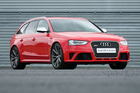 At $154,000 the new RS 4 Avant could reasonably be called good value, because it's $15,000 cheaper than the previous model. Picture / Andrew Bright