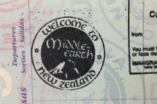 The official Middle-earth passport stamp. Photo / Supplied
