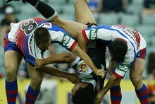 The Warriors played league sevens in 2003-04. Photo / Getty Images