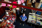 Bryan Clifford has worked at Marbecks Megastore in Queen's Arcade, central Auckland, for 26 years. A huge sale is under way before it closes for good. Photo / Steven McNicholl