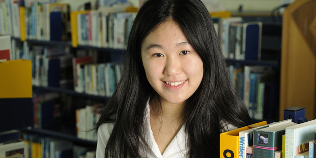 Hannah Ng has worked on her research during her spare time over four years. Photo / Martin Sykes