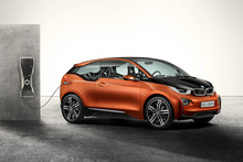 BMW says the Concept Coupe has a broader, lower-slung look when compared with the production i3. Photo / Supplied