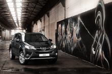 The all-new RAV4 has a more aggressive profile than its somewhat playful-looking predecessors. Photo / Supplied