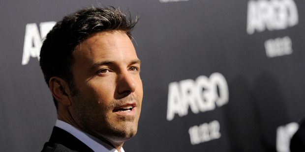 Entertainment Weekly has crowned Ben Affleck Entertainer of the Year. Photo / AP