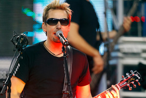Nickelback lead vocalist Chad Kroeger. Photo / File / Rick Osentoski