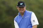 Ernie Els, a former critic of anchored putting, used the technique when he won the British Open. Photo / AP