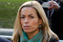 Kate McCann, the mother of missing girl Madeleine, testified in the Leveson Inquiry. Photo / AP