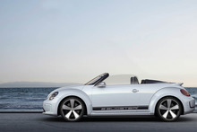 The VW Beetle convertible will make its debut at the LA auto show this week. 