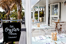 Oyster Inn - on Waiheke Island's main street of Oneroa - is so good it demands a visit. Photo / Babiche Martens