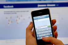 At least one in five New Zealand high school students have reported being victims of cyber bullying. Photo / Brett Phibbs