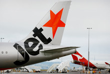 Jetstar yesterday vowed it would get everyone home in time for Christmas. Photo / Greg Bowker