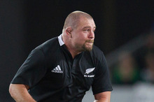All Black Tony Woodcock will visit Sweden as part of a promotional drive. Photo / Greg Bowker 