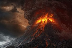 Mt Doom from the Lord of the Rings films. Photo / Supplied