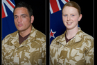 Corporal Luke Tamatea, Lance Corporal Jacinda Baker and Private Richard Harris were killed when their Humvee struck an improvised explosive device. Photo / supplied