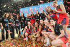 The Magic were the first Kiwi side to win the ANZ Championship. Photo / Mark McKeown