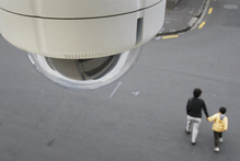 The Auckland Council wants to link all CCTV camera networks across the region in order to improve public safety. Photo / Steven McNicholl
