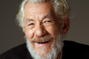 Sir Ian McKellen. Photo / Cameron Tandy