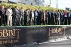 The world premiere of The Hobbit drew plenty of barbs but Sir Peter Jackson and co should be celebrated for creating another blockbuster. Photo / Mark Mitchell