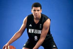 Tai Webster is the youngest player to make his debut for the Tall Blacks. Photo / Michelle Hyslop