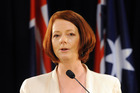 Julia Gillard denies a role in her then boyfriend's association. Photo / NZPA