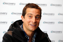 Bear Grylls will be on stage in Auckland on Sunday. Photo / APN