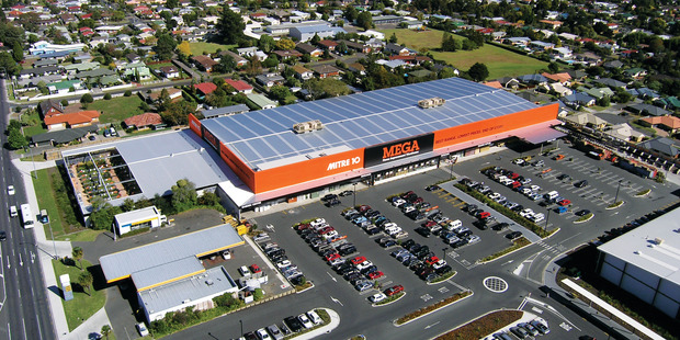 The Mitre 10 Mega store at 186 Lincoln Rd, Henderson. Photo / Spplied