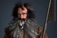 William Kircher in his role as Bifur. Photo / APN