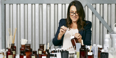 Aromatherapy Company founder Sarah Townsend. Photo / Supplied 