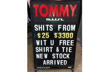 All manner of wrongness on this sign, spotted by Jill at a Fox Outlet Shopping Centre in Northcote. Photo / Supplied